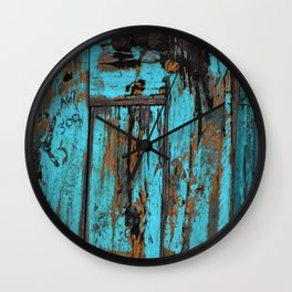 Cracked Wall Clock