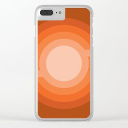 Moonspot - Red Rock Clear iPhone Case