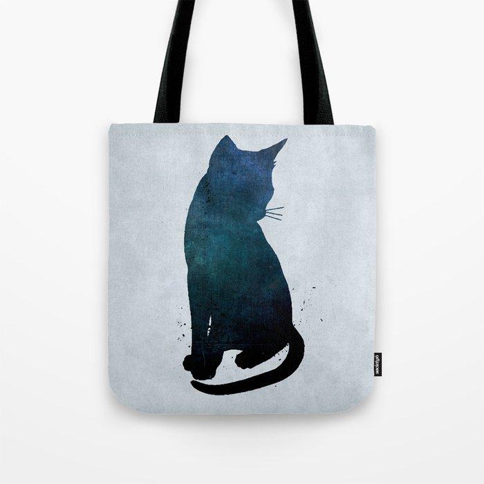Dark Cat Tote Bag