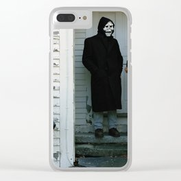 Brand New - The Devil And God Are Raging Inside Me Clear iPhone Case