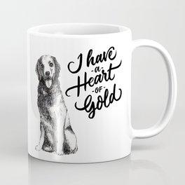 Heart of Gold Coffee Mug