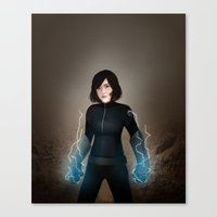 allyson johnson Canvas Prints featuring Daisy johnson.  by tantoun