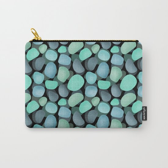 Sea pebbles . No. 1 Carry-All Pouch