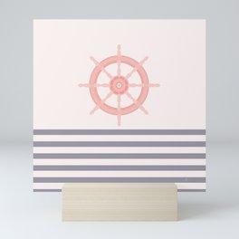 AFE Nautical Helm Wheel 2019 -5 Mini Art Print
