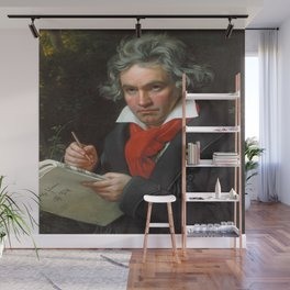 Joseph Karl Stieler - Portrait of Beethoven Wall Mural
