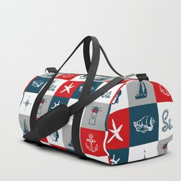 Nautical design 4 Duffle Bag