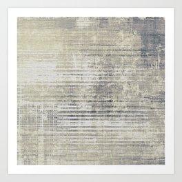 Vintage Grey Art Print