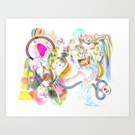 Fantastic Reality Art Print