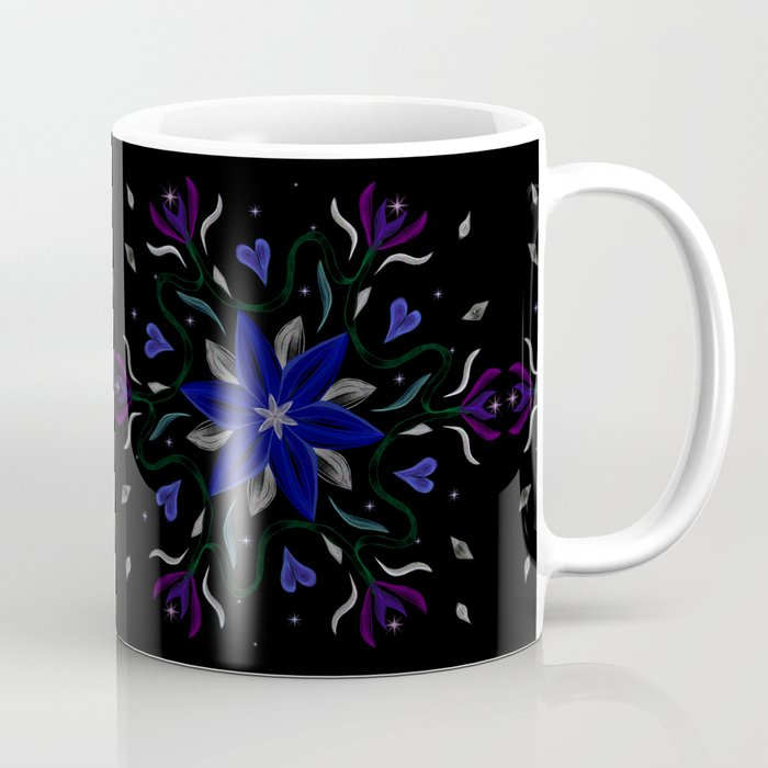 Blue Starflower Coffee Mug