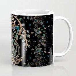 Butterfly and Tree of life Yggdrasil Coffee Mug