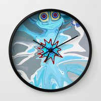 rare Wall Clocks featuring Rare Card by Gregree