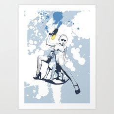 Scout Squirt Art Print
