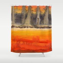 Improvisation 18 Shower Curtain
