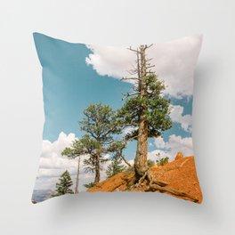 Queens Garden Trail Landscape in Bryce Canyon Throw Pillow