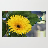 you are my sunshine Area & Throw Rugs featuring Sunshine  by IowaShots