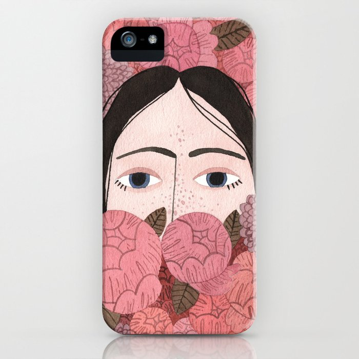 Irene iPhone Case