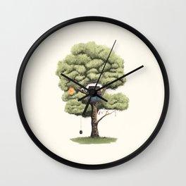 Tyre Swing Wall Clock