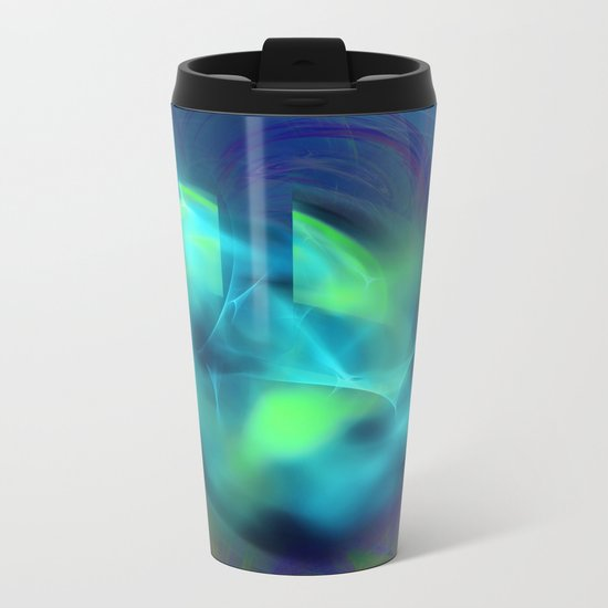 Out Of The Blue Metal Travel Mug