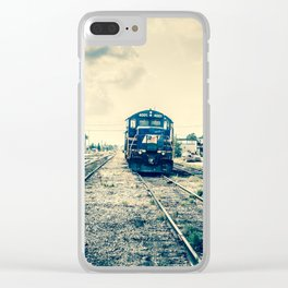 The Last Trip Clear iPhone Case