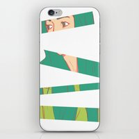 bambi iPhone & iPod Skins featuring Bambi by Katlix Design