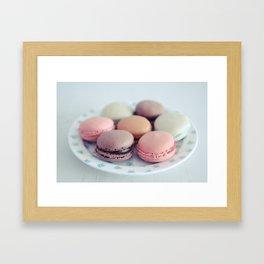 Life On A Plate Framed Art Print
