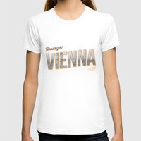 "vienna T-shirts featuring Vintage Print ""Goodnight Vienna."" by Lewys Williams"