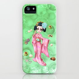 Wagashi iPhone Case