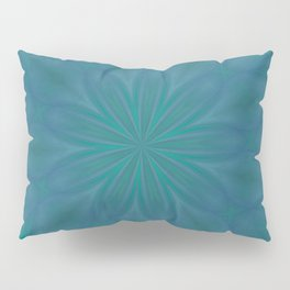 Aurora In Teal Blue and Green Pillow Sham