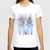 manga T-shirts featuring Manga Girls by Illu-Pic-A.T.Art