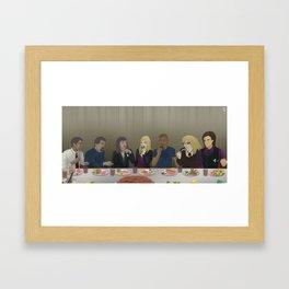 Criminal Minds Final Meal Framed Art Print