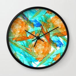 Original Abstract Duvet Covers by Mackin & MORE Wall Clock