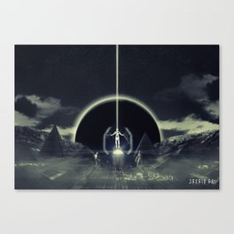 Poster - Voyagers Canvas Print