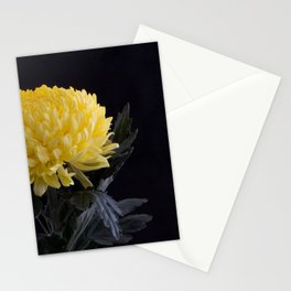 Yellow Chrysanthemum Stationery Cards