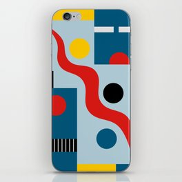 SWIMMERS IN WEIMAR iPhone Skin
