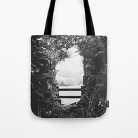 uk Tote Bags featuring UK countryside by SassySnark