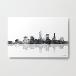 Cleveland, Ohio Skyline Metal Print