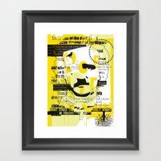 poe-try 4 Framed Art Print