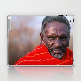 African Maasai Elder Laptop & iPad Skin