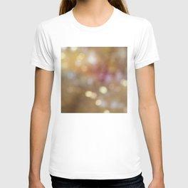 Soft Golden Bokeh T-shirt