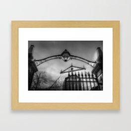 Greyfriars Kirk Cemetery Edinburgh Framed Art Print