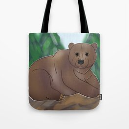 Grizzly Bear Love Tote Bag