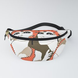 Woman Flappers Fanny Pack