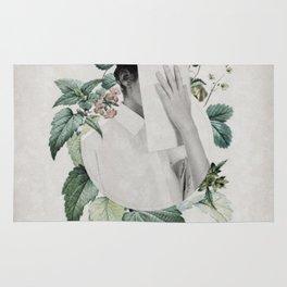 Floral portrait ... Rug