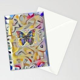 Kandinsky Butterfly Stationery Cards