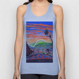 Surf Art Psychadelic  Unisex Tank Top
