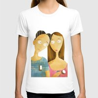 lovers T-shirts featuring Lovers by gazonula