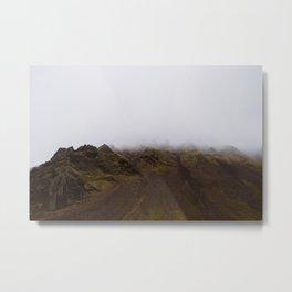 Jurassic Landscape Metal Print