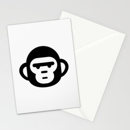 The grumpiest monkey. Stationery Cards