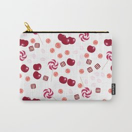 Candy lollipops of cherry Carry-All Pouch