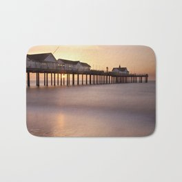 Southwold Pier at Sunrise Bath Mat